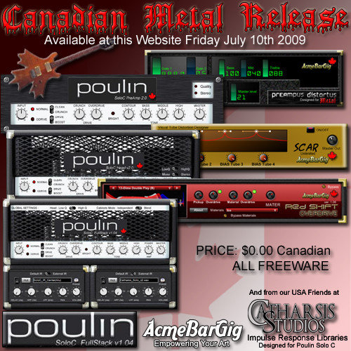 metal cadanian pack