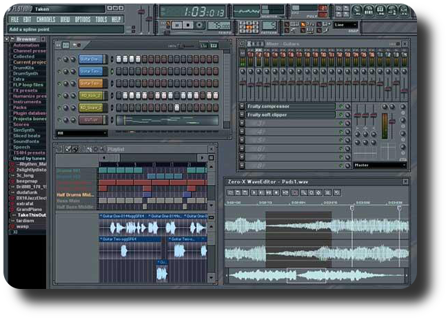 FL Studio 8 Crack ( Кряк ) FL Patches Fruity Loops FL Studio.