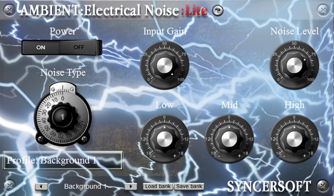 ambient:electrical noise lite