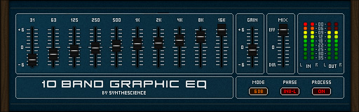 10 band graphic eq